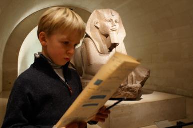 Jeu de piste les égyptiens au Louvre