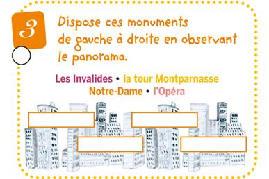 Second extrait du livret enfant - Jeu de piste Village de Montmartre
