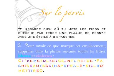 Extrait livret enfant - jeu de piste Notre-Dame de Paris