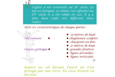 Second extrait du livret enfant - jeu de piste Mont Saint Michel
