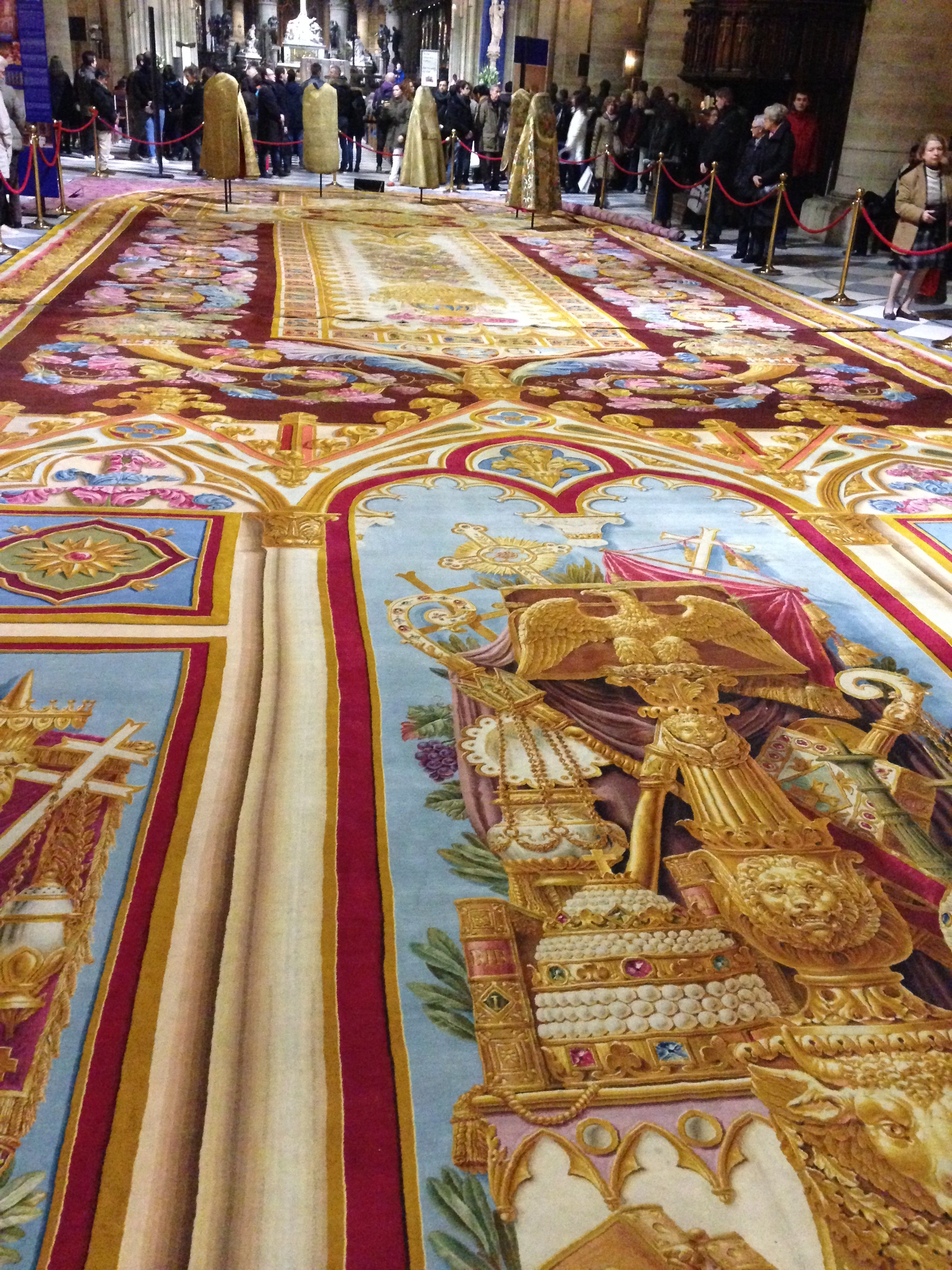 1000 images about tapis et tapisserie on pinterest persian tapestries and - Tapis saint maclou paris ...