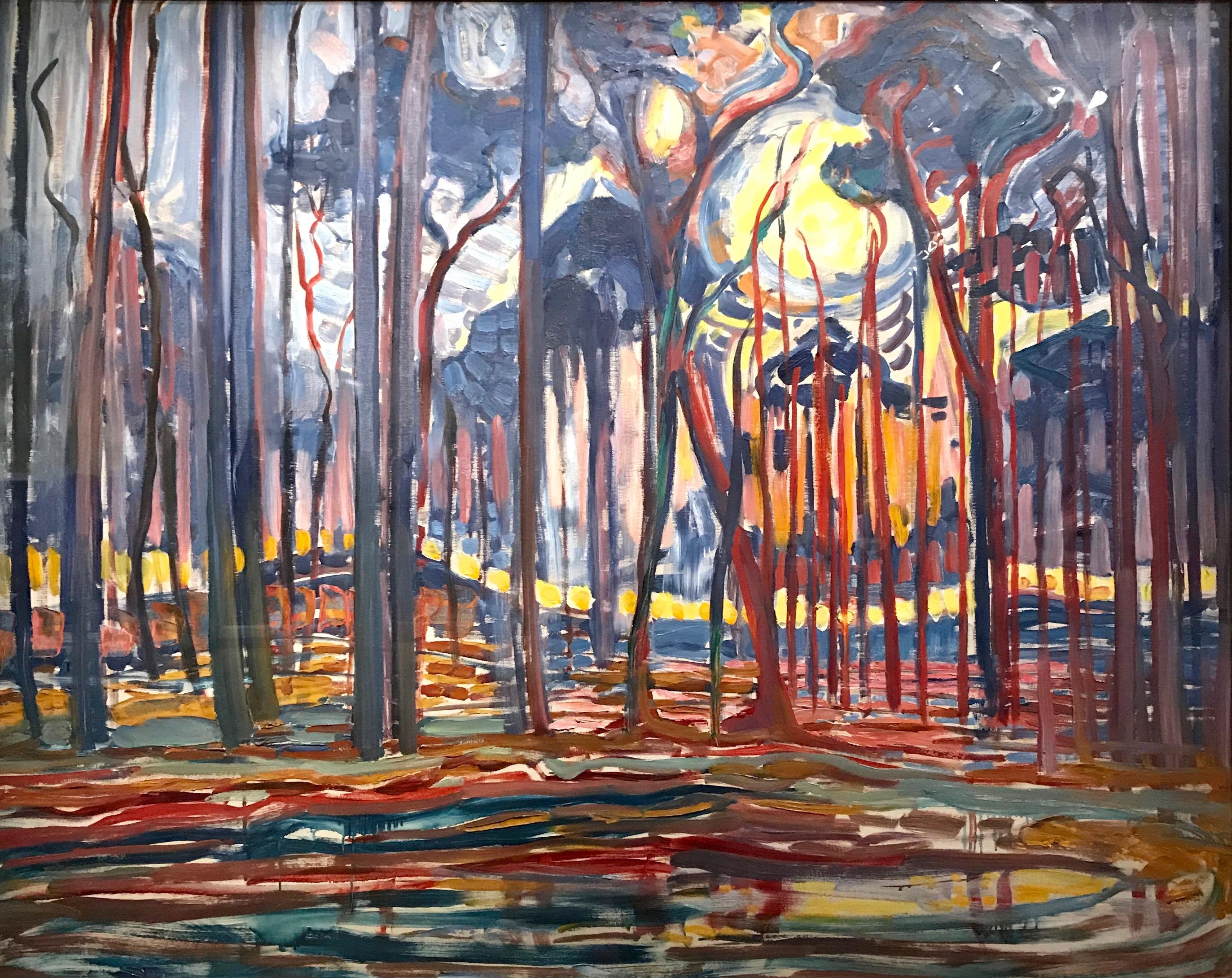 Mondrian - Bois près d'Oele 1908