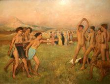 Le premier ballet de Degas
